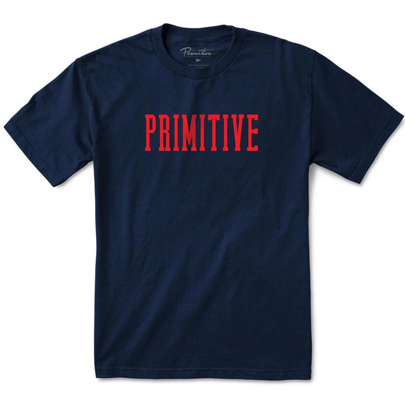 PRIMITIVE DROP OUT T-SHIRTS NAVY