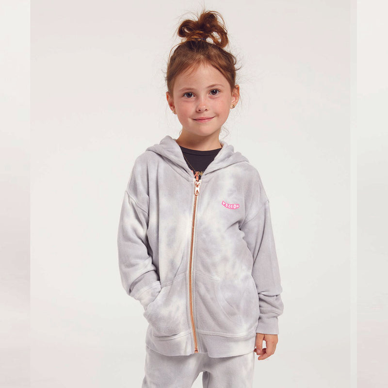 Volcom 2021 Little Junior Girls  Lil Zip Fleece