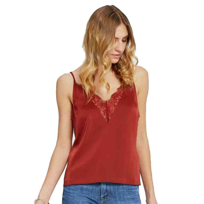GENTLE FAWN SCARLETT TANK TOP DEEP RUBY