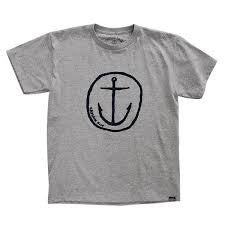 CAPTAIN FIN BOYS SPECIAL FORCES Tee HEATHER GREY