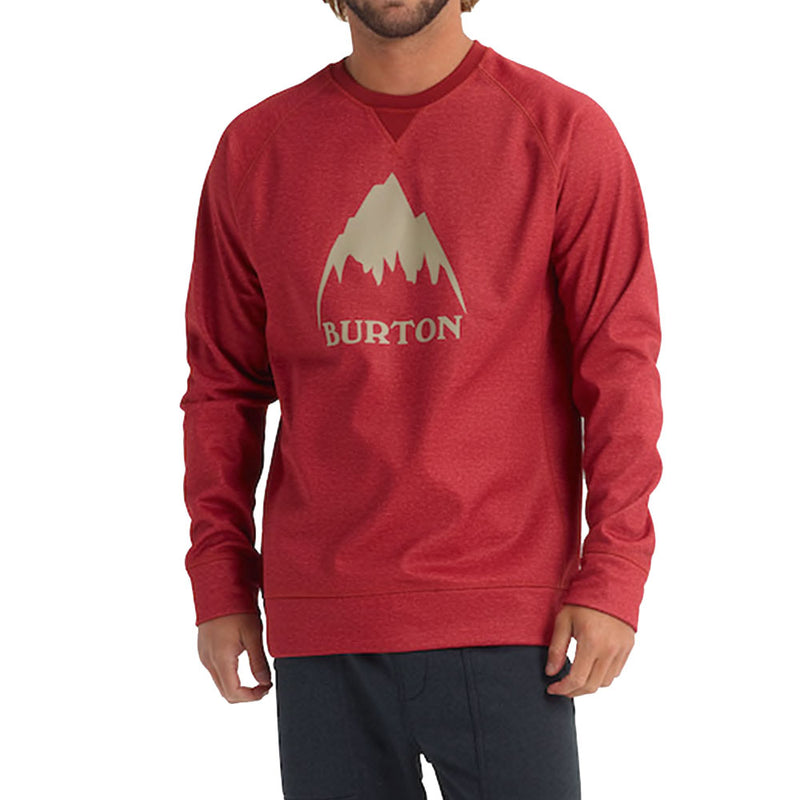 BURTON MB 2020 BONDED CREW TANDORI HEATHER