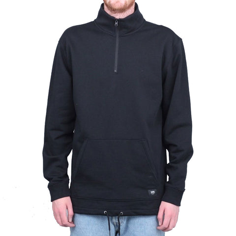 VANS VERSA QUARTER ZIP DX CREW BLACK