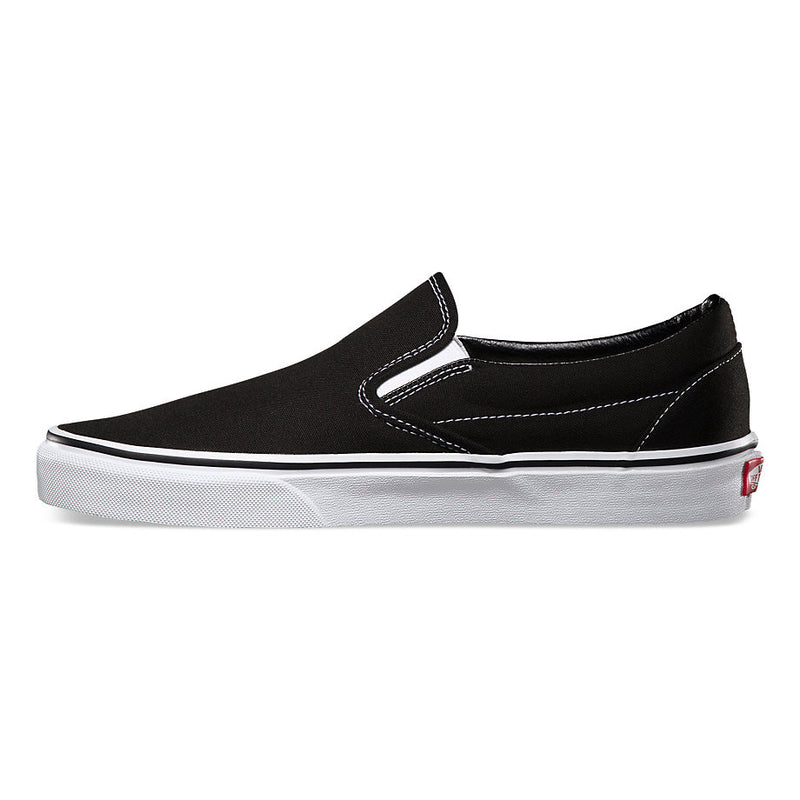 Vans Classic Slip On Shoes Black / White