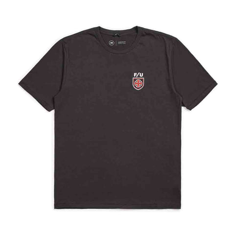 BRIXTON HEDGE S/S PREMIUM TEE WASHED BLACK