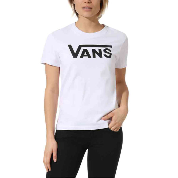 Vans Womens Basic Flying V Tee White