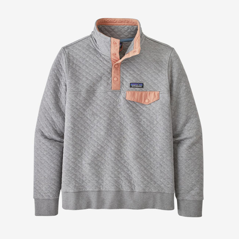 Patagonia Women Organic Cotton Quilt Snap-T Pullover