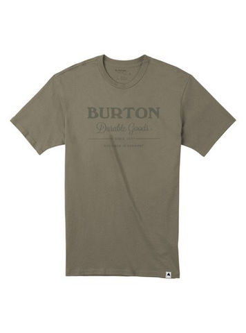 BURTON MENS DURABLE GOODS SS TEE SILVER SAGE