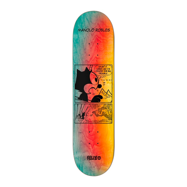 Darkstar Manolo Felix Future R7 Skateboard 8.0''