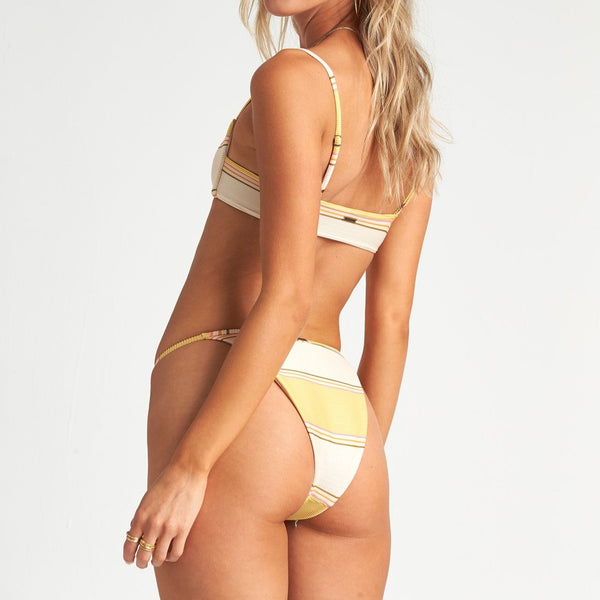 BILLABONG TANLINES HIKE BIKINI BOTTOM PINEAPPLE