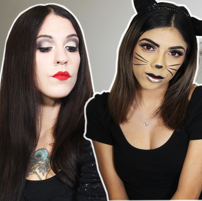 Last Minute Halloween Makeup Looks