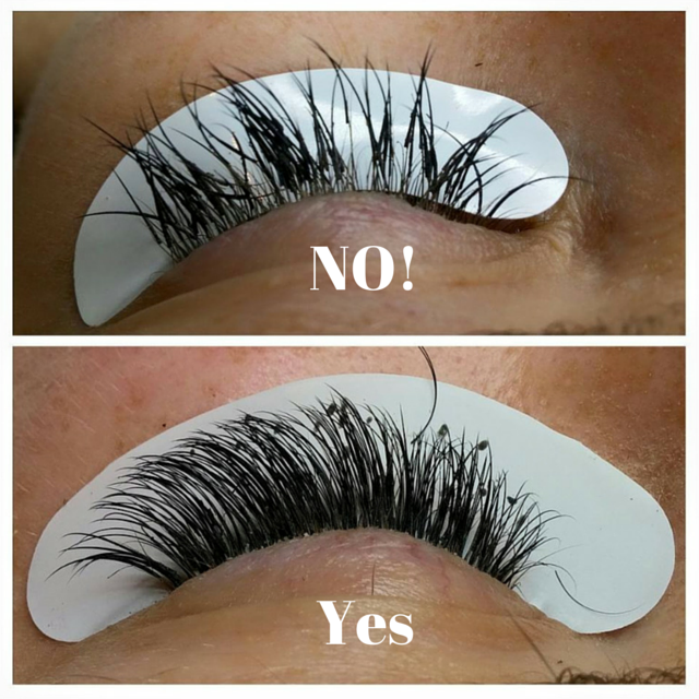 Bad vs. Good Lashes
