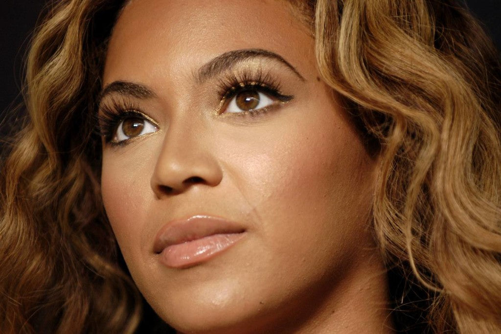 Beyonce's Lash Extensions