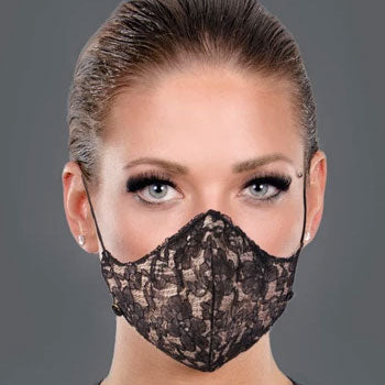 Lace Carbon Filter Face Mask
