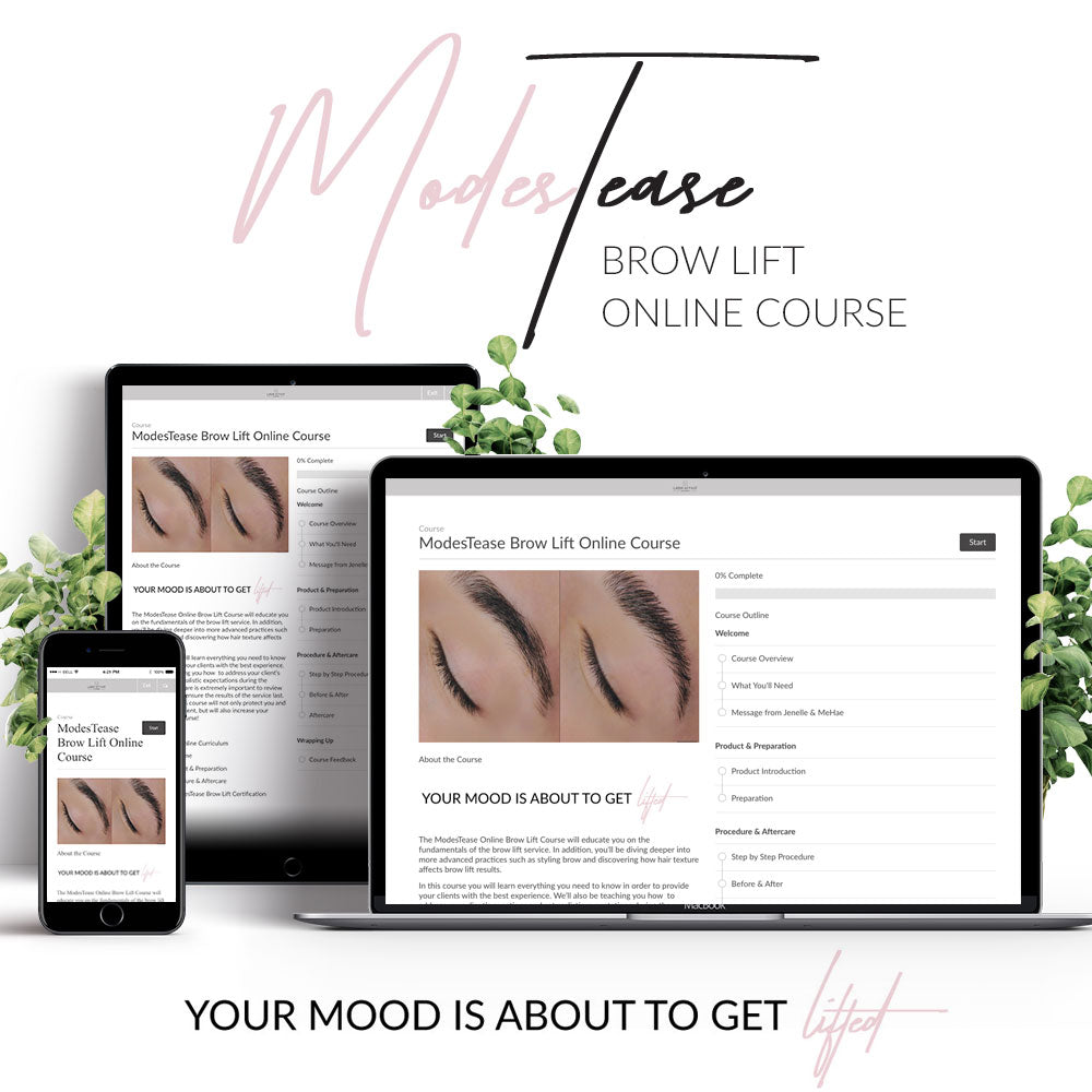 ModesTease Online Brow Lift Course