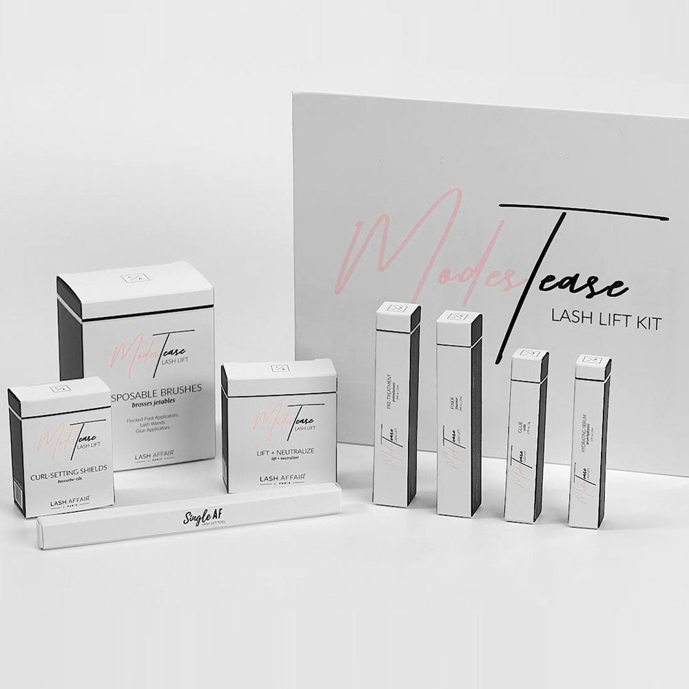 ModesTease Online Lash Lift Course and Starter Bundle