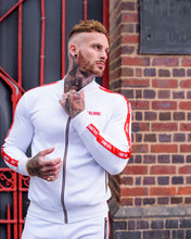 Houston White & Red Poly Tracksuit