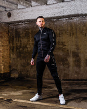Black Poly Tracksuit