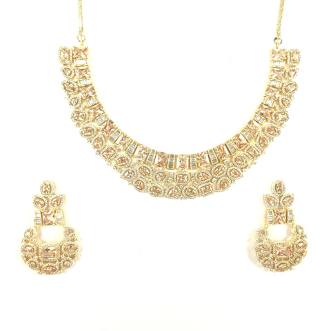 Beautiful Champagne Necklace