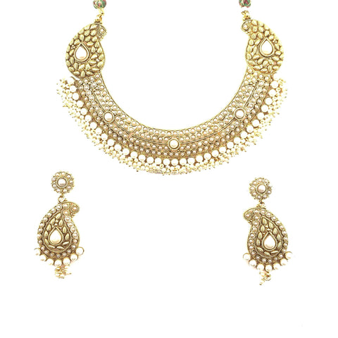 Ambi Polki Necklace Set