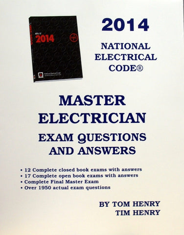Master Electrician Exam Questions And Answers 2014