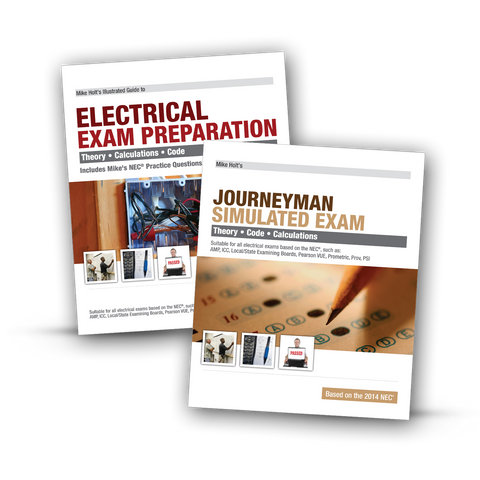 2014 Electrician Exam Preparation Book & Journeyman Simulated Exam