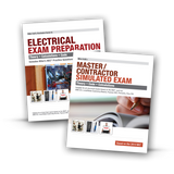 2014 Electrician Exam Preparation Book & Master/Contractor Simulated Exam