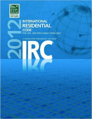 2012 International Residential Code for One- and Two- Family Dwellings, 1st Edition