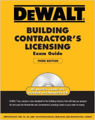 DEWALT Building Contractor's Licensing Exam Guide-3rd Edition