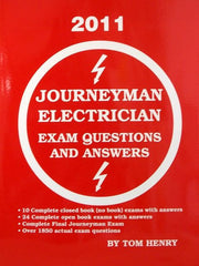 JOURNEYMAN ELECTRICIAN'S EXAM QUESTIONS AND ANSWERS 2011