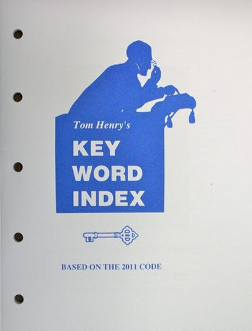 Tom Henry's Key Word Index 2011 Pocket Size