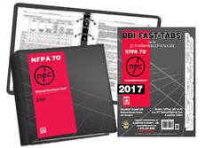 2017 NATIONAL ELECTRICAL CODE (NEC) LOOSE LEAF AND TABS COMBO