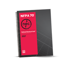 2017 NATIONAL ELECTRICAL CODE (NEC) SPIRALBOUND