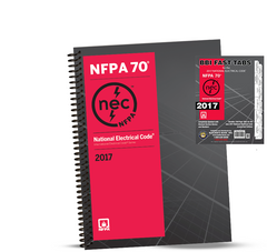 2017 NATIONAL ELECTRICAL CODE (NEC) SPIRALBOUND TABS COMBO