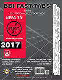2017 NATIONAL ELECTRICAL CODE (NEC) TABS