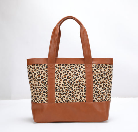 10341 Extra large printed tote