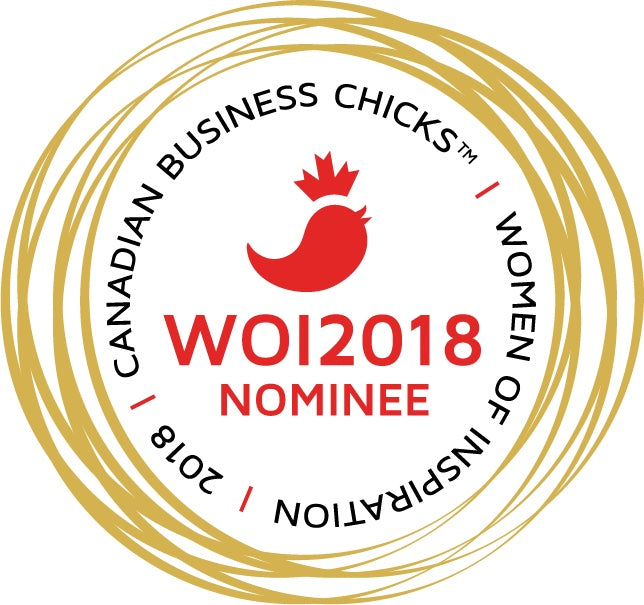 Honoured to be nominated for Canadian Business Chicks Women of Inspirtaion.