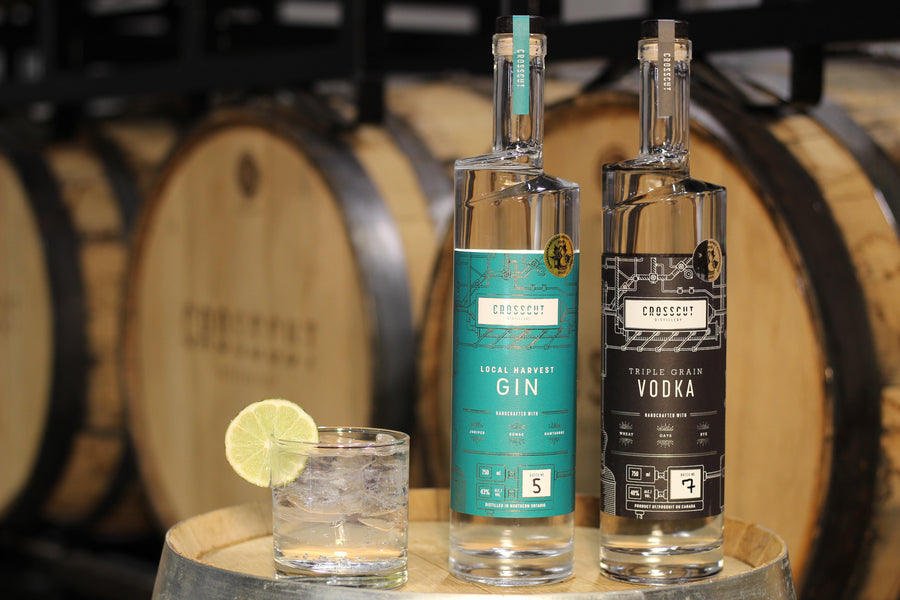 Crosscut Takes Gold & Silver in Canadian Artisan Distillers Competition