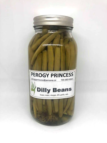 Perogy Princess Large Green Beans
