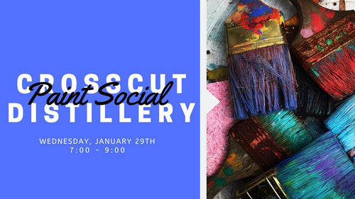 Paint Social | Wednesday, January 29th @ 7:00 |