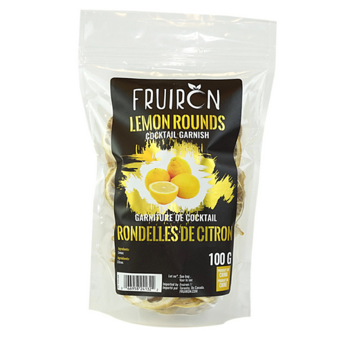 Dehydrated Lemon Rounds