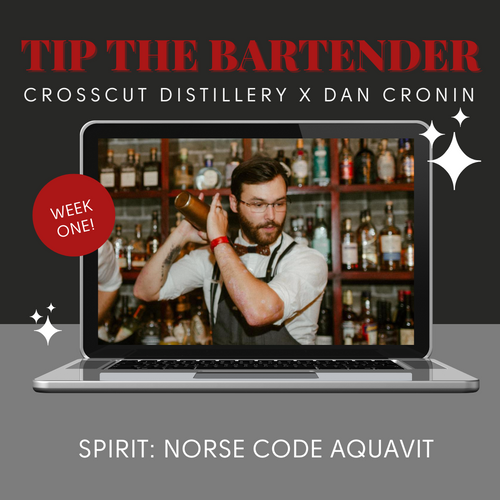Tip The Bartender: Virtual Event - February 10th @ 7:30pm