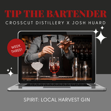 Tip The Bartender: Virtual Event - February 24th @ 7:30pm