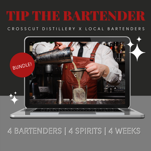 Tip The Bartender: 3 Virtual Events Bundle - BEST VALUE!