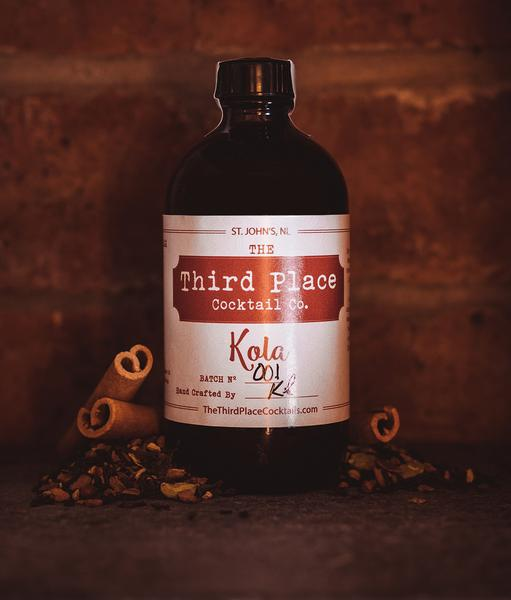 Kola Tonic Syrup: The Third Place Cocktail Co.