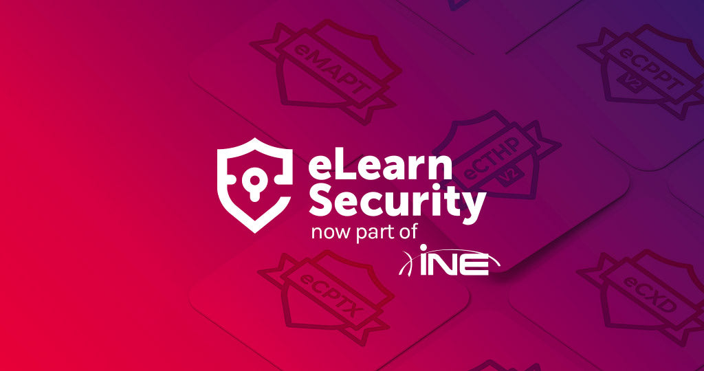INE Expands Cybersecurity Content with eLearnSecurity