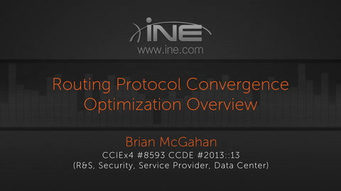CCIE R&S V5 :: Convergence Optimization - INE