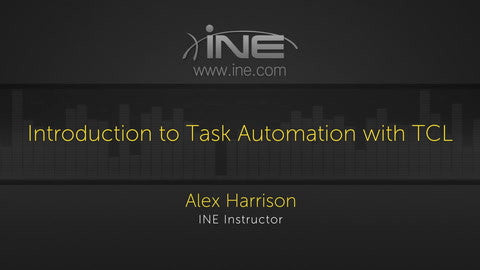 Task Automation For Network Engineers (TCL/EXPECT) - INE
