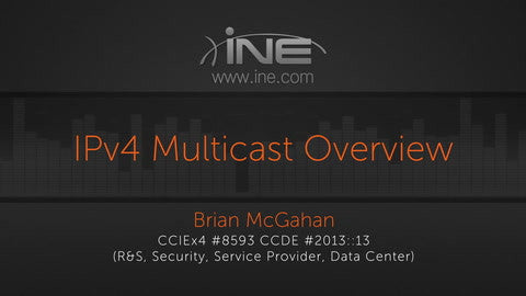 CCIE R&S V5 :: IP Multicast Routing - INE