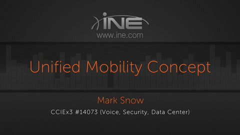 CCIE Collaboration: UCM :: Mobility And Call Coverage