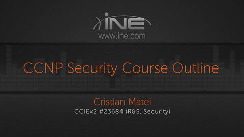 CCNP Security Technology Course: 300-208 SISAS